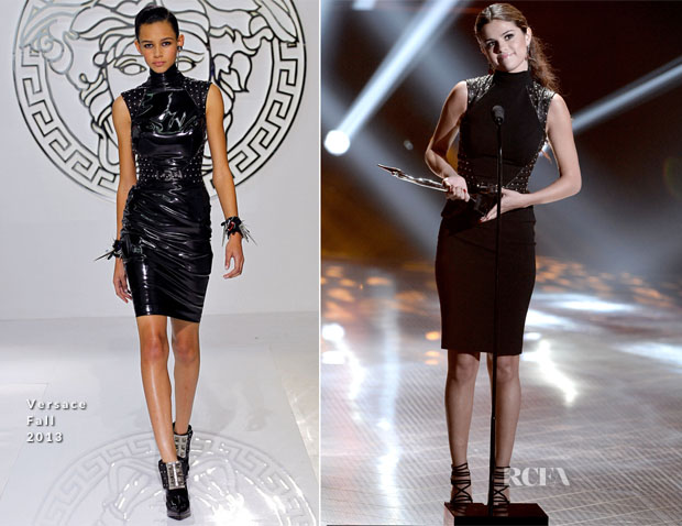 Selena Gomez In Versace - 2013 Young Hollywood Awards
