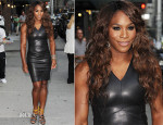 Serena Williams In Narciso Rodriguez - Late Show with David Letterman