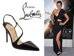 Serinda Swan's Christian Louboutin 'June' Sandals