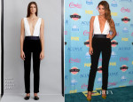 Shay Mitchell In Jenni Kayne - 2013 Teen Choice Awards