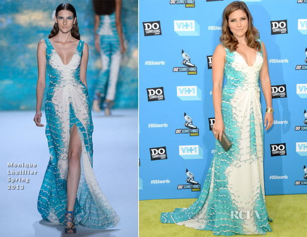 Sophia Bush In Monique Lhuillier - 2013 Do Something Awards