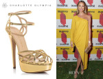 Stacy Keibler's Charlotte Olympia 'Ursula' Sandals