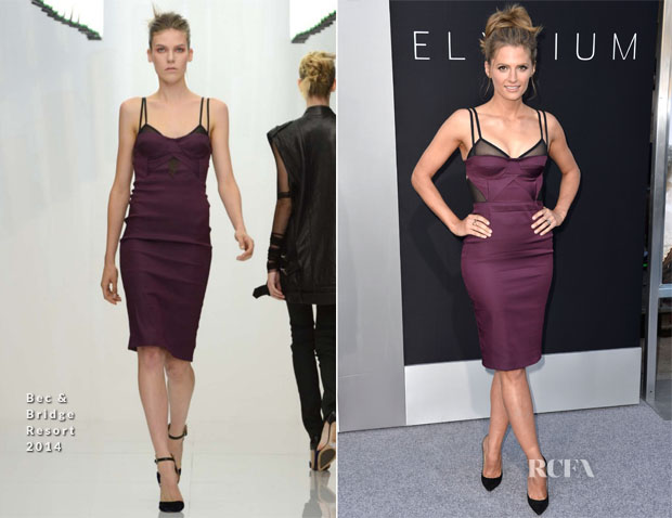 Stana Katic In Bec & Bridge - 'Elysium' LA Premiere
