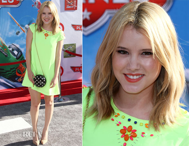 Taylor Spreitler In Missguided - 'Planes' LA Premiere