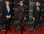 'The Mortal Instruments: City of Bones' Toronto Premiere Menswear Round Up