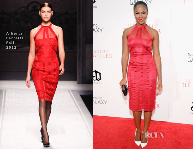 Tika Sumpter In Alberta Ferretti - 'The Butler' New York Premiere