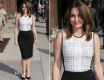 Tina Fey In Reed Krakoff - Late Show with David Letterman