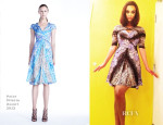 Tyra Banks In Peter Pilotto - ANTM