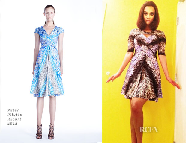 Tyra Banks In Peter Pilotto - ANTM2