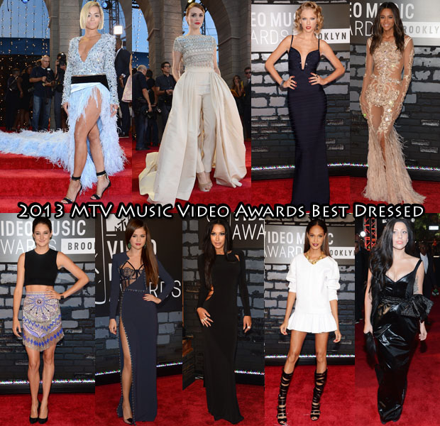 VMAs Best Dressed 2013