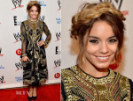 Vanessa Hudgens In Temperley London - WWE & E! Entertainment's 'SuperStars For Hope' Event