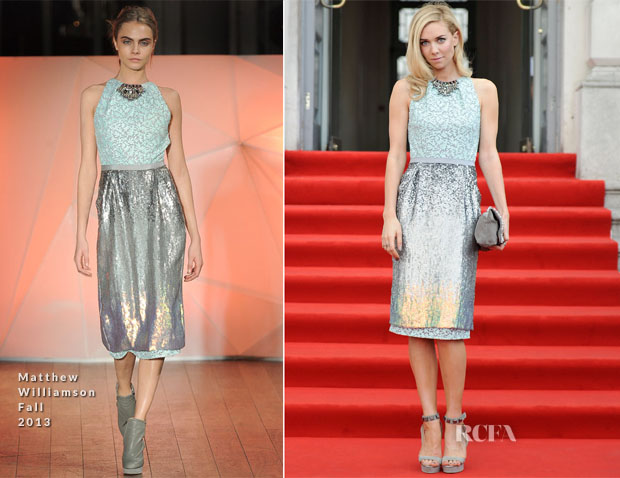 Vanessa Kirby In Matthew Williamson - 'About Time' World Premiere