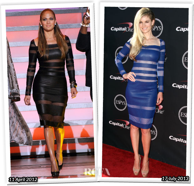 Who Wore Catherine Malandrino Better Jennifer Lopez or Marisa Miller