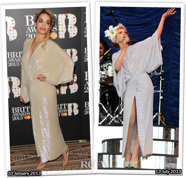 Who Wore Diane von Furstenberg Better Rita Ora or Paloma Faith