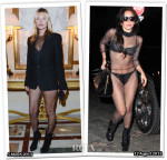 Who Wore Saint Laurent Better...Kate Moss or Lady Gaga?