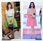 Who Wore Valentino Better...Alexa Chung or Fan Bingbing?