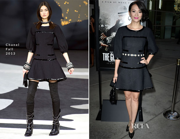 Zhang Ziyi In Chanel - 'The Grandmaster' LA Premiere