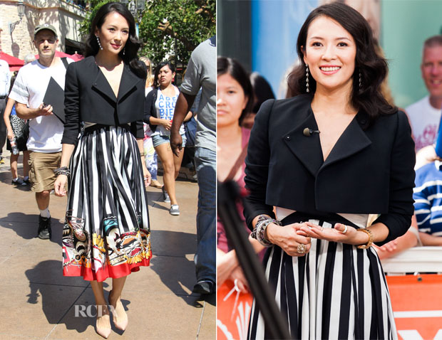Zhang Ziyi In Dsquared² - Extra