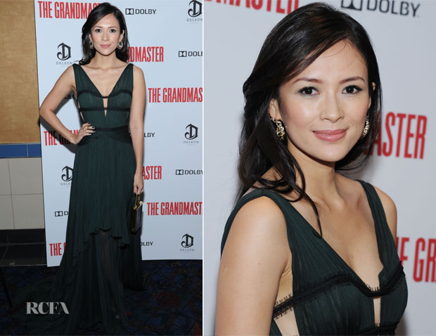 Zhang Ziyi In J Mendel - 'The Grandmaster' New York Screening