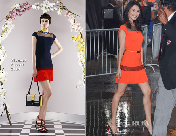 Zhang Ziyi In Vionnet - Good Morning America