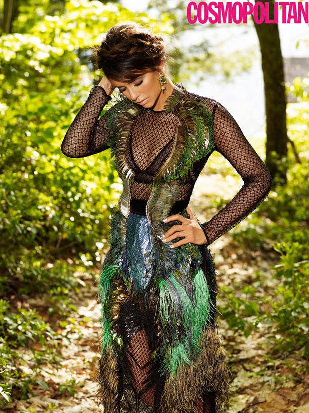 Nina Dobrev in Gucci