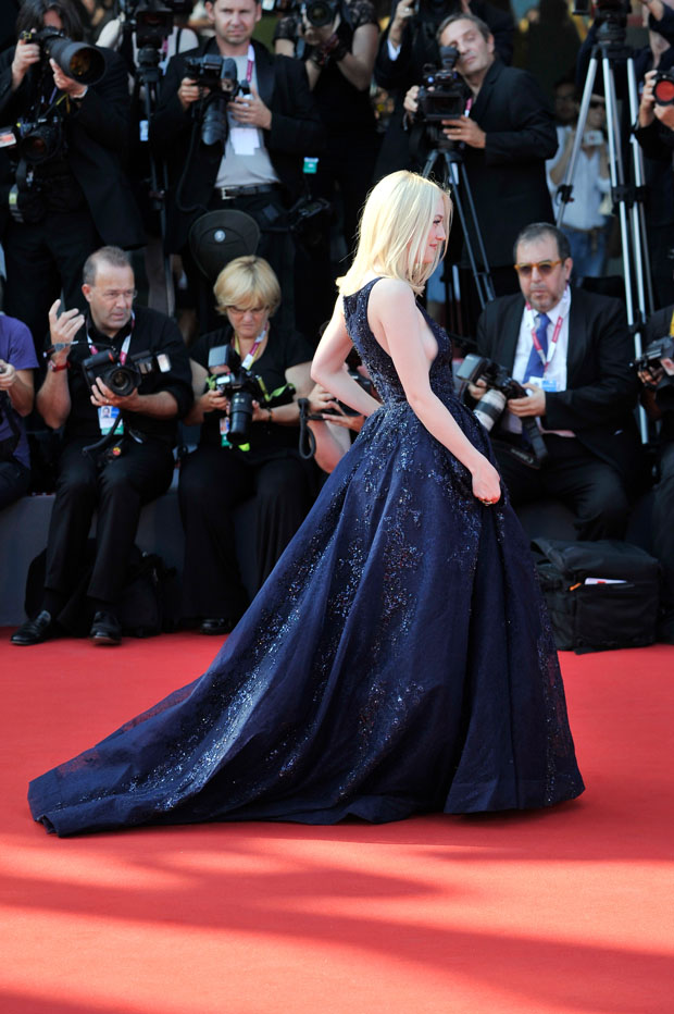 Dakota Fanning in Elie Saab Couture