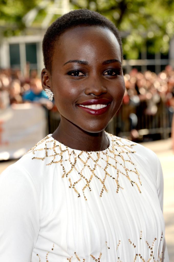 Lupita Nyong'o in Prada