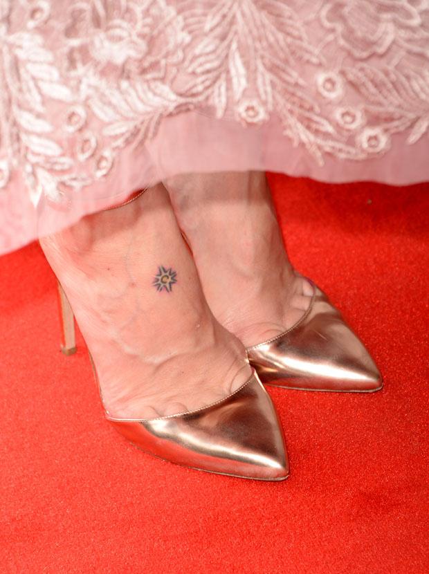 Sarah Paulson's Oscar Tiye pumps
