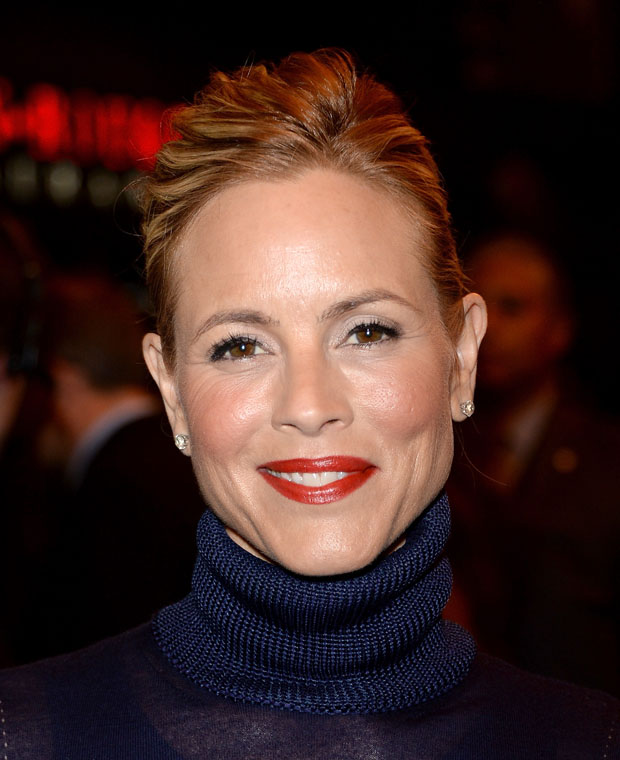 Maria Bello in Ferragamo