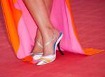 Clotilde Courau's Dior shoes