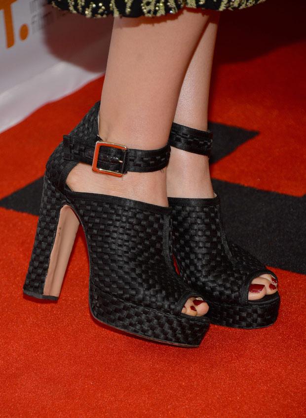 Elizabeth Olsen's Bionda Castana 'Christa' booties