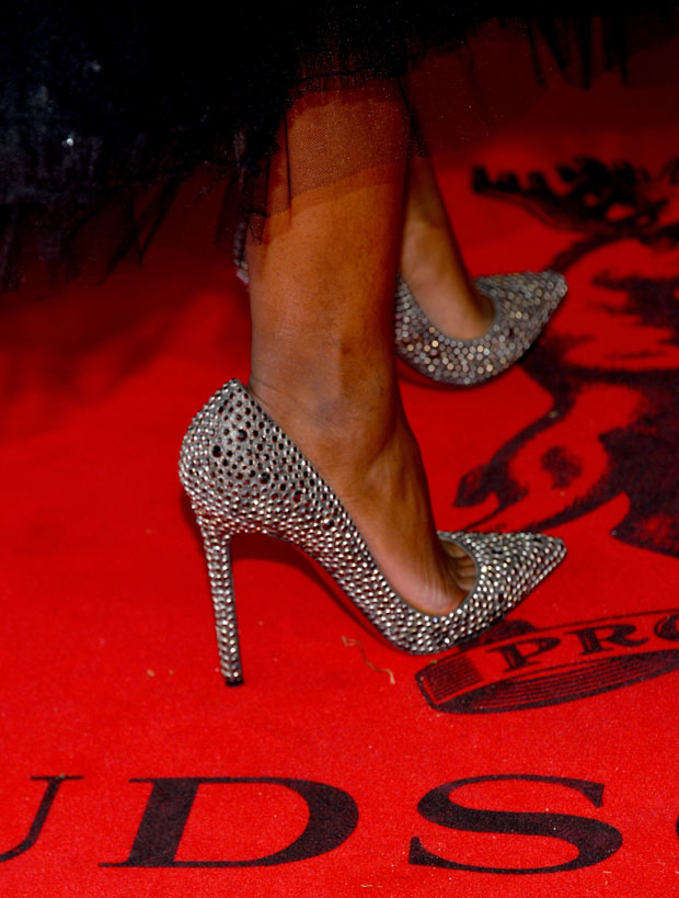 Naomie Harris' Christian Louboutin shoes