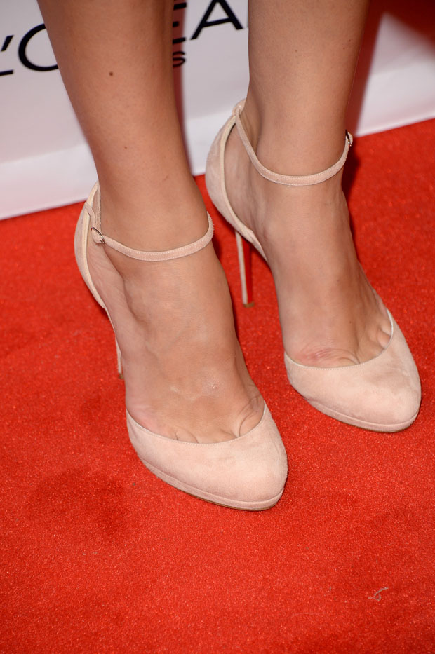 Keira Knightley's Christian Louboutin shoes