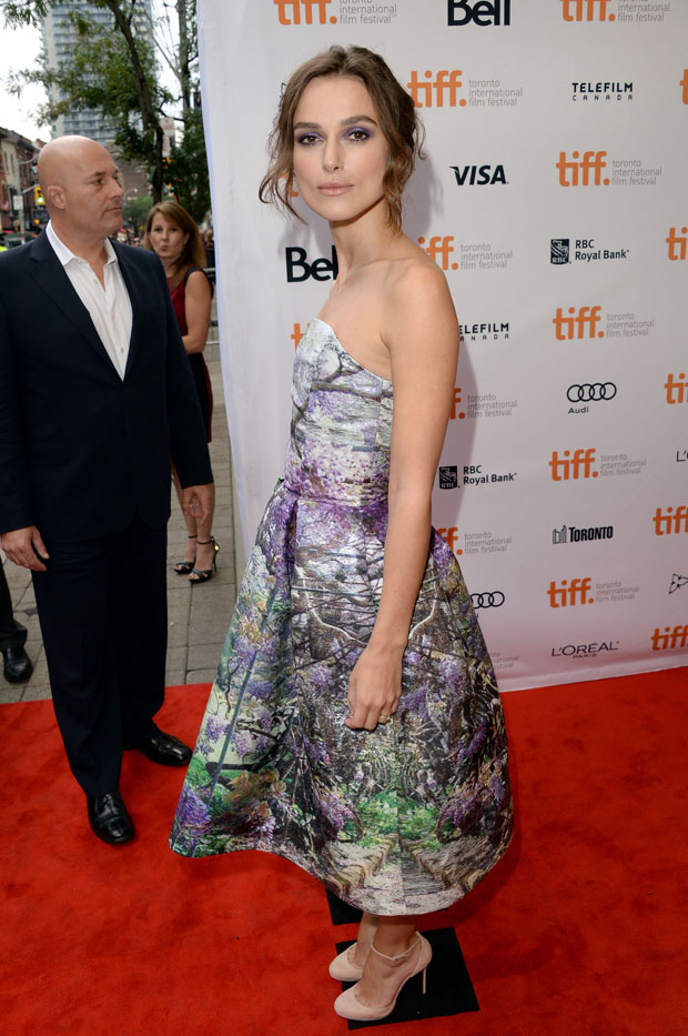 Keira Knightley in Mary Katrantzou