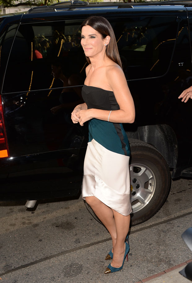 Sandra Bullock in Narciso Rodriguez