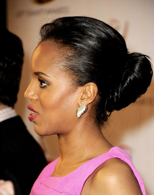 Kerry Washington in Halston Heritage