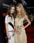 Hailee Steinfeld in Prabal Gurung and Taylor Swift in Reem Acra