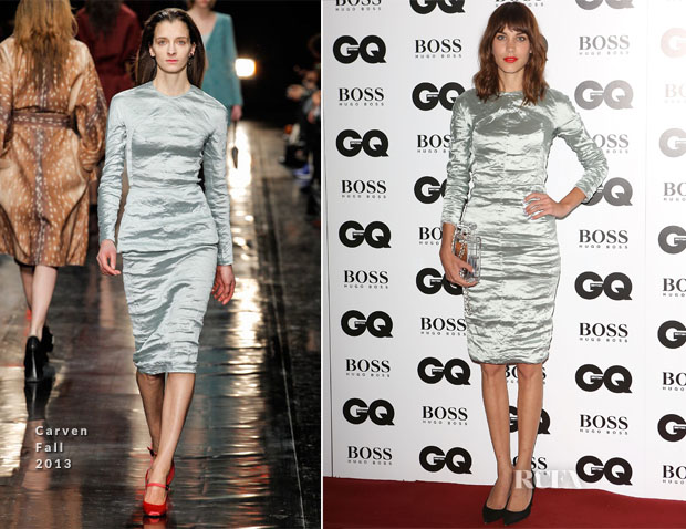 Alexa Chung In Carven - GQ Men of the Year Awards