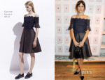 Alexa Chung In Carven - 'It' Book Launch Party