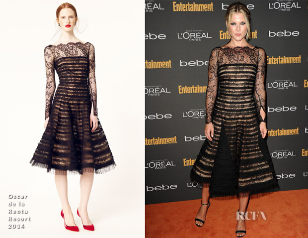 Ali Larter In Oscar de la Renta - Entertainment Weekly Pre-Emmy Party