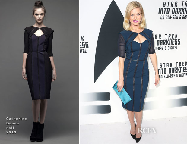 Alice Eve In Catherine Deane - 'Star Trek Into Darkness' Blu-RayDVD Release Event