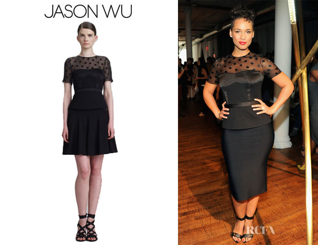 Alicia Keys' Jason Wu Peplum Top