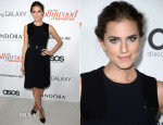 Allison Williams In Chloé - The Hollywood Reporter's Emmy Party
