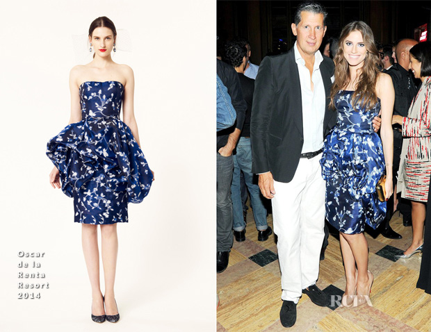 Allison Williams In Oscar de la Renta - The Generation W October Issue Cocktail Party
