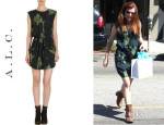 Alyson Hannigan's A.LC. 'Simona' Dress
