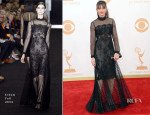 Amanda Peet In Erdem - 2013 Emmy Awards