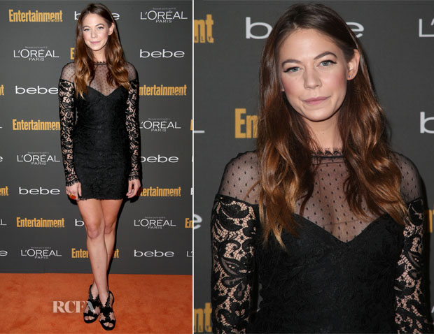Analeigh Tipton In Emilo Pucci - Entertainment Weekly Pre-Emmy Party