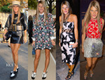 Anna Dello Russo's Four Looks In One Day