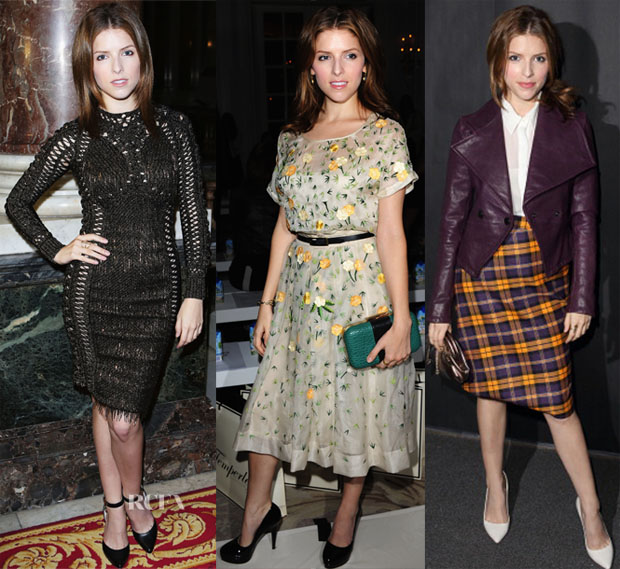Anna Kendrick Front Row at LFW