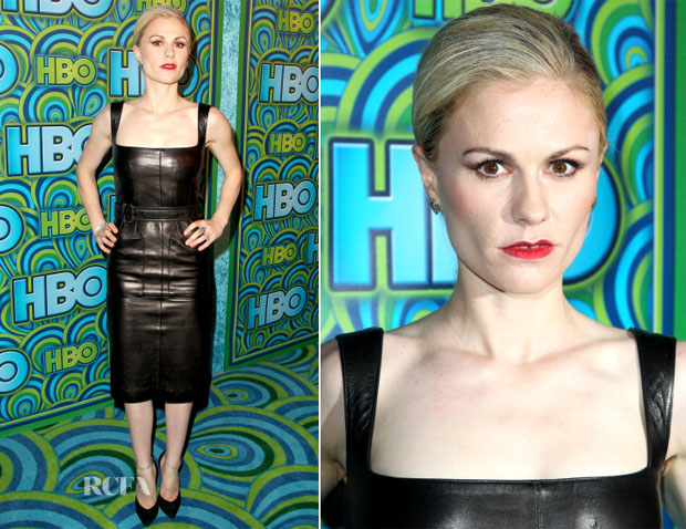 Anna Paquin In Alexander McQueen - HBO's Emmy After-Party
